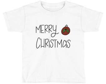Kids Short Sleeve Christmas T-Shirt