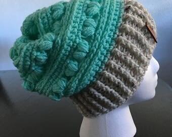 Womans Crochet beanie