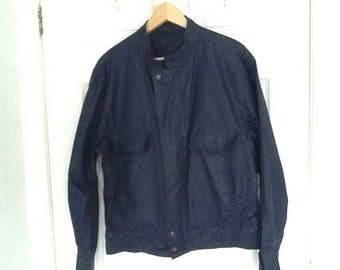 Jaeger dark blue lightweight jacket