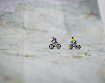 DIGITAL DOWNLOAD.Art photography decoration home,sport photo,design,cycling,miniature people,little,outdoor,digital,mountain bike,prints