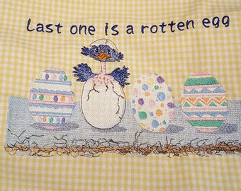 Easter or Spring Tea Towel