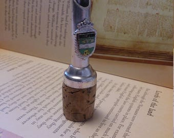 Vintage Wine Pouring Spout | With Specific Emblem | Collection piece