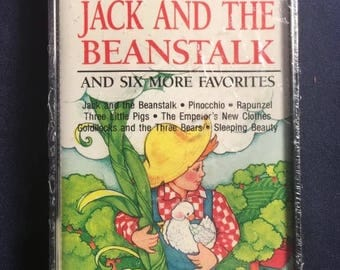 Little Stories For Little People Jack And The Beanstalk Cassette Tape From 1991