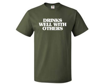 Drinks Well With Others - St. Patricks Day T-Shirt