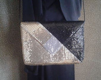 Vintage Metallic Handbag