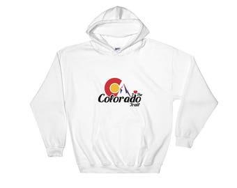 I Love the Colorado Trail Hooded Sweatshirt