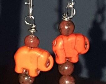 Elephant, Earrings, Cute, Teen Gifts