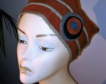 fleece Hat rust