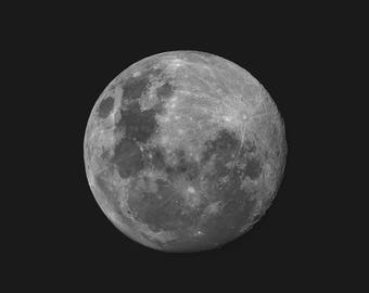 Full Moon Composite,  Moon Photography, Astrophotography, Moon Picture