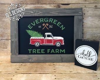 Vintage Truck Sign