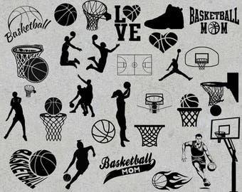 Basketball svg bundle, Sports svg, Basketball monogram svg