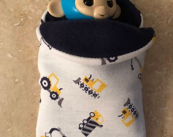 Fingerlings Finger Monkey construction truck sleeping bag accessory