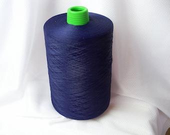 Purple Condord Thread Textured Polyester