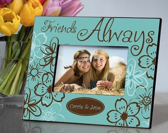 Personalized Everlasting Friends Picture Frame - Friend Picture Frames - Personalized Friend Photo Frame - Personalized Friend Picture Frame