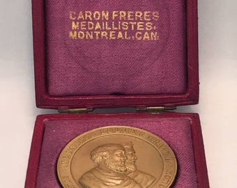 Medal (Gold-plated Bronze)
