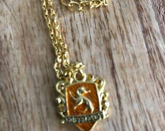 Harry Potter Hogwarts Hufflepuff Necklace
