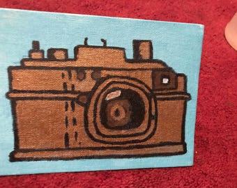 Vintage Camera- Simple