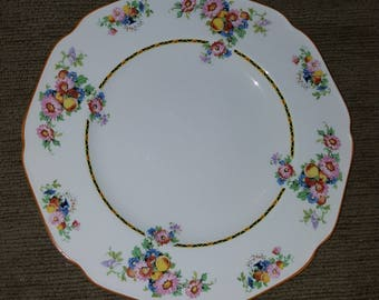 1920s antique Crown Ducal Ware from England 10in. Dinner Plates