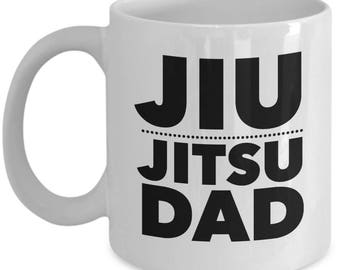 Jiu Jitsu Dad Mug, Coffee cup, Father's Day, Martial Arts