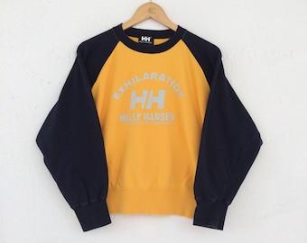 Helly Hansen Sweatshirt Pullover Big Logo Size S