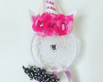 Unicorn bow/clip hanger!