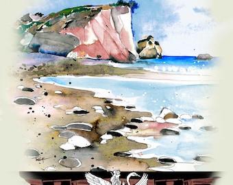 Cyprus Arhrodite Rock