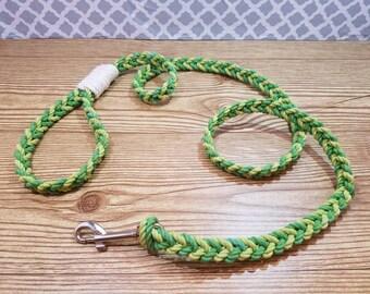 The Link / Dog Leash / Cotton Leash / Pet Leash / Lead / Handmade Leash / 100% Cotton / Rope Leash /  Vibrant Colored Leashes / Pet Gift