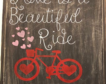 Love is a beautiful ride