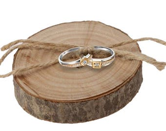 Rustic Wedding Ring Holder