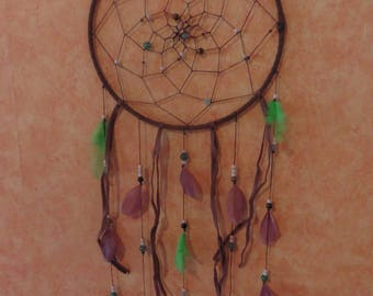 DreamCatcher green and Brown 25cm