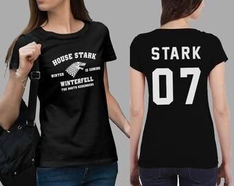 Stark 07 game of thrones Shirt #J