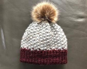 Hat with Pompom. Child