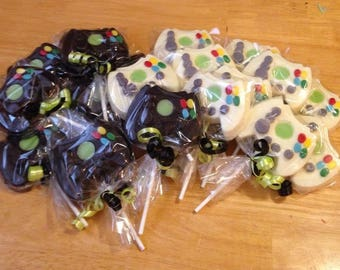 Game Contoller Chocolate Lollipops