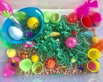 Sensory Bin: Easter 2