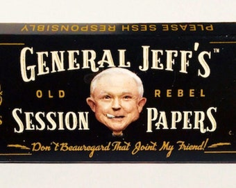 General Jeff's Old Rebel Session Papers -REAL