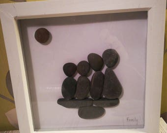 Pebble Picture - Family