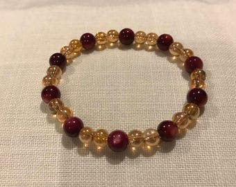 Golden Cranberries Bracelet