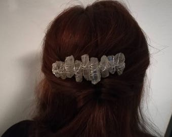 Crystal Hair clasp-veil comb-noble clasp for evening event-wedding-prom-modern witch