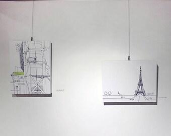 8x10 Canvas Print / Paris Moment Series