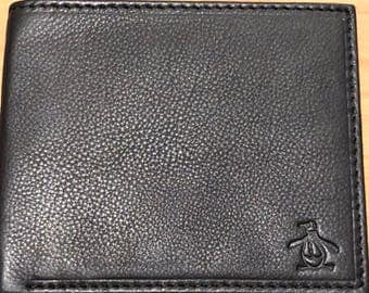 Penguin black wallet