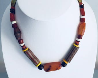African valuable  coral beads necklace.