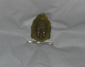 Glass sculpture Buddha