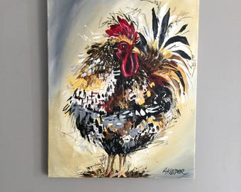 Earthy Rooster