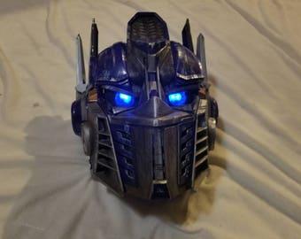 Optimus Prime Transformer Mask Modification