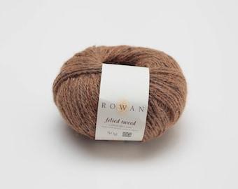 Rowan felted Tweed 175-cinnamon