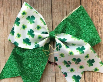 ShaMrocks cheer bow