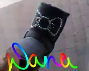 Custom kids boots