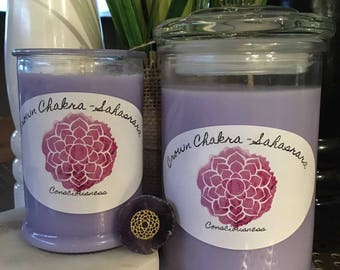 Chakra Intention Candles