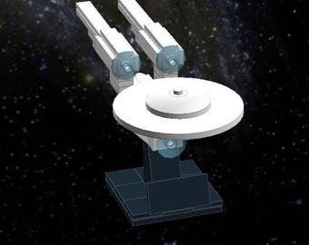 New Enterprise 2009 - Lego Star Trek - Instructions/Parts List - Files Only