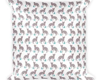Sphynx Cat Square Pillow